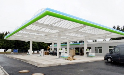 gallery/UltraLight Max Petrol Station Canopy